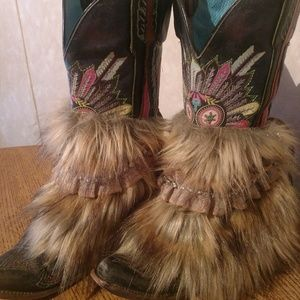Shoes - One-of-a Kind, Handmade Faux Fur Boot Cove